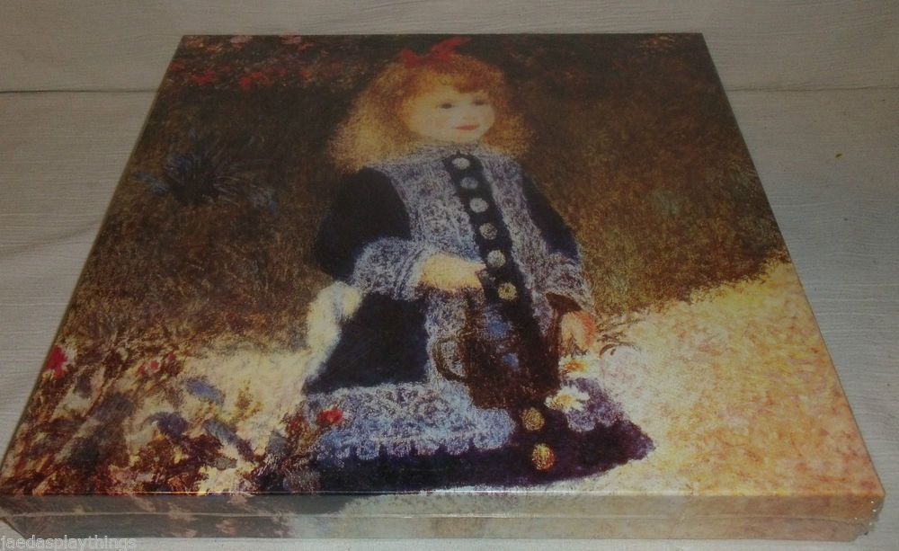 Pierre Auguste Renoir Jigsaw Puzzle GIRL WITH A WATERING ...