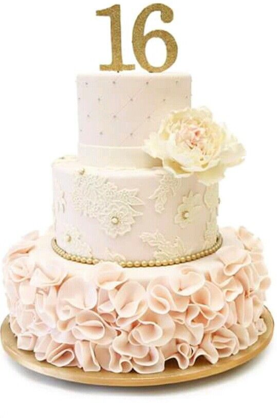 Sweet 16 Cake Classy