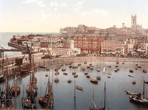 The harbor, II., Margate, England