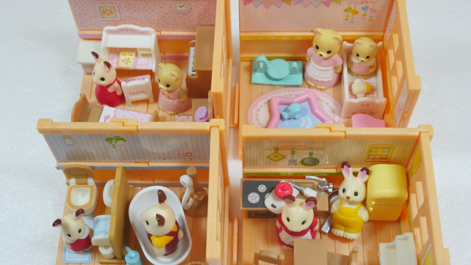 Toy Capsule Toys シルバニア ガシャポン Epoch Sylvanian Families Gashapon