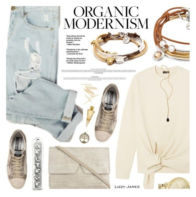 """""""LIZZY JAMES"""" by defivirda ❤ liked on Polyvore featuring Joseph, Lizzy James, Golden Goose, Vince, Kate Spade, Jacquie Aiche and Jivago"""