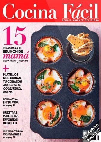 Cocina Fácil México - Mayo 2016 - 15 ideas para el brunch de mamá ...