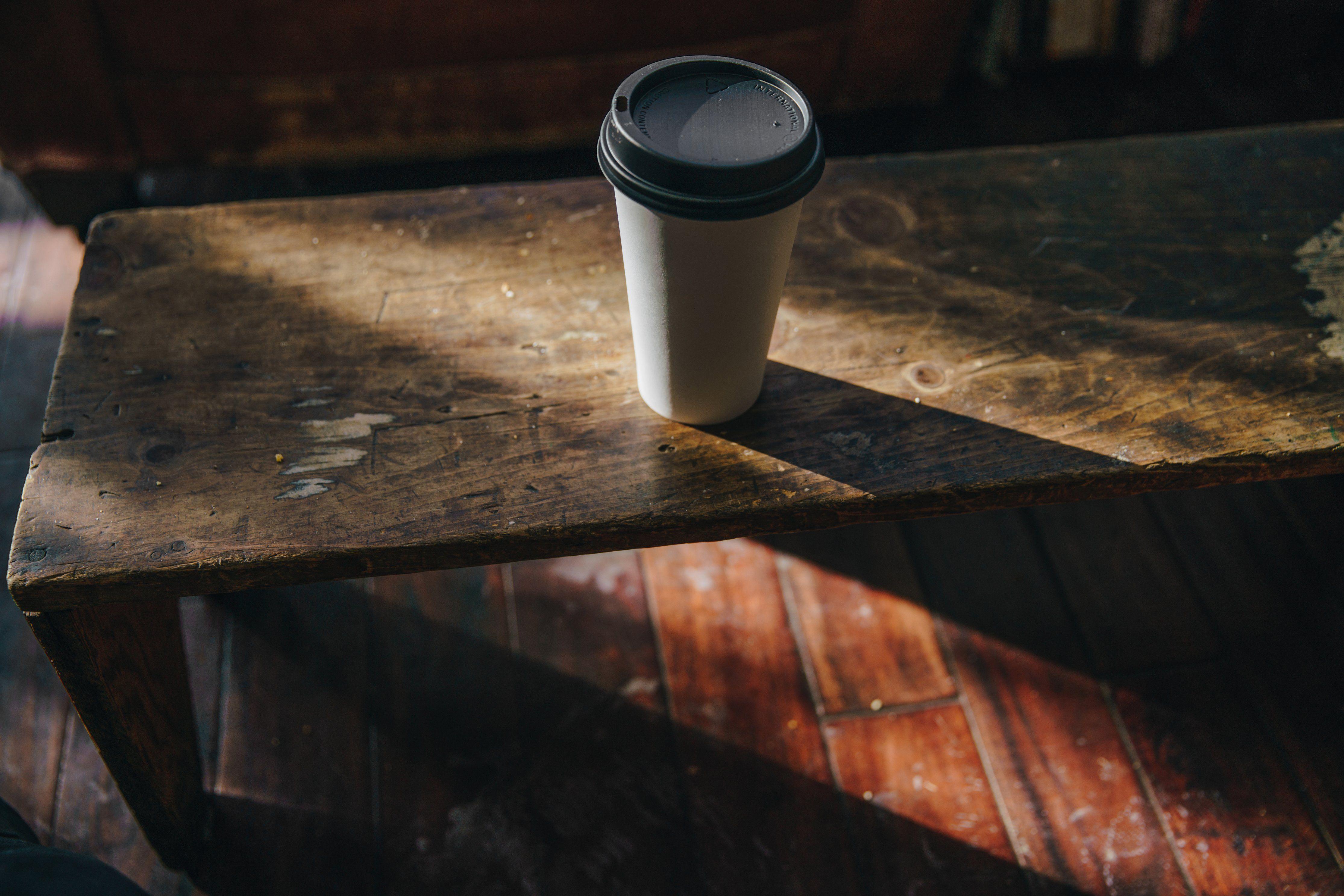 Disposable Coffee Cups 8oz 12oz 16oz Takeaway Paper Single