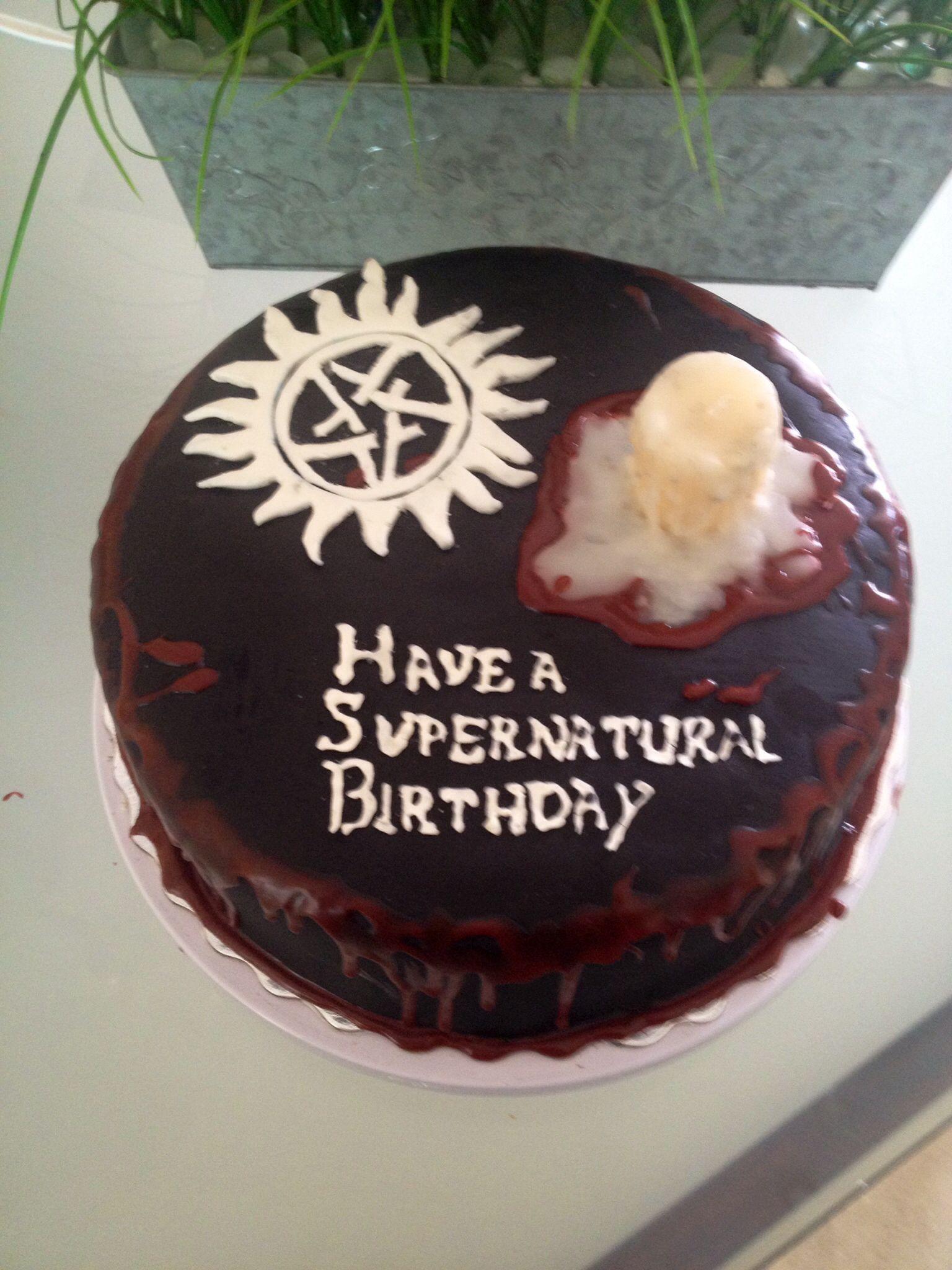 Supernatural cake | Supernatural cake, Supernatural ...