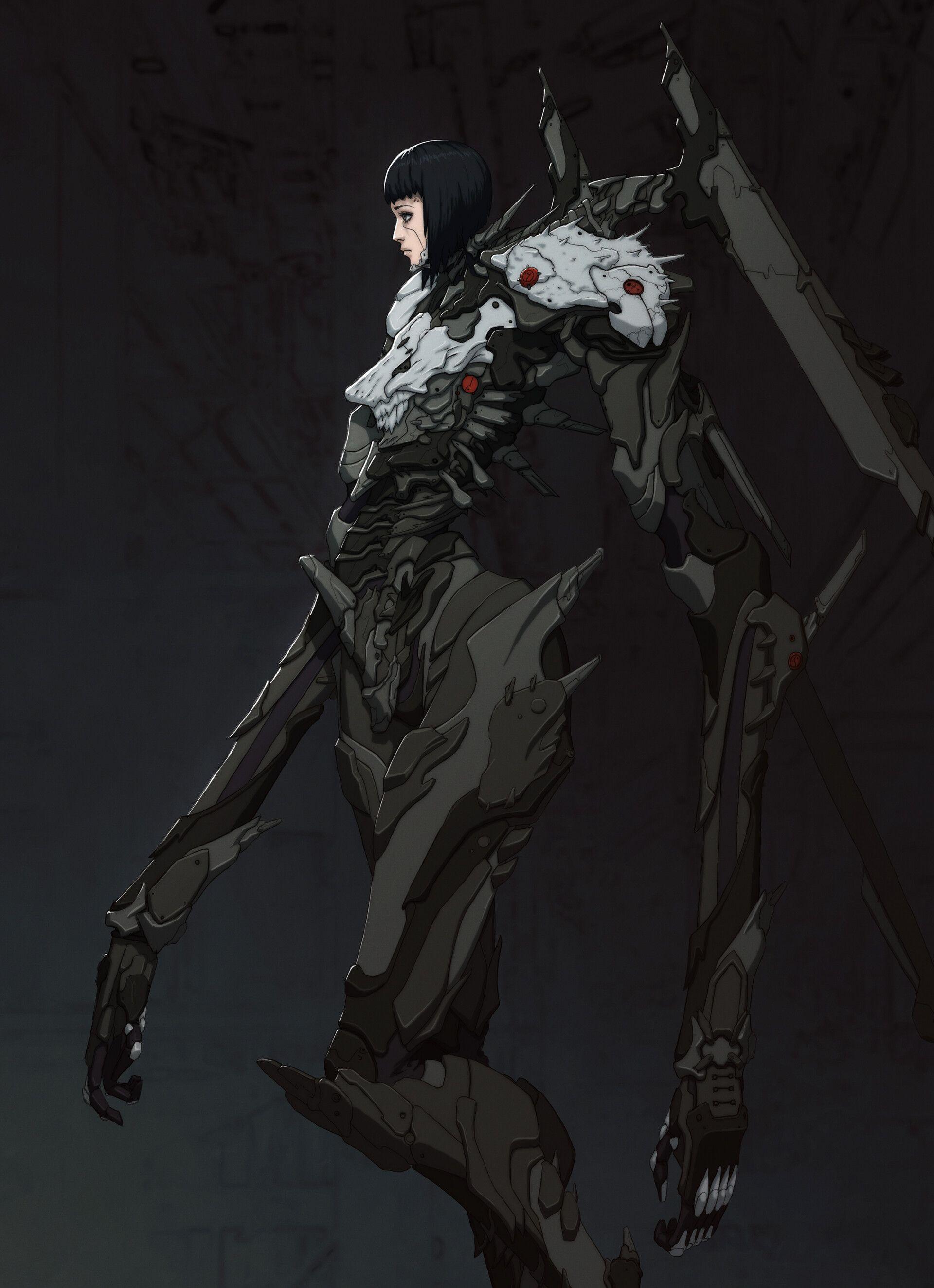 ArtStation 15, Ujin Shamoney Concept art characters