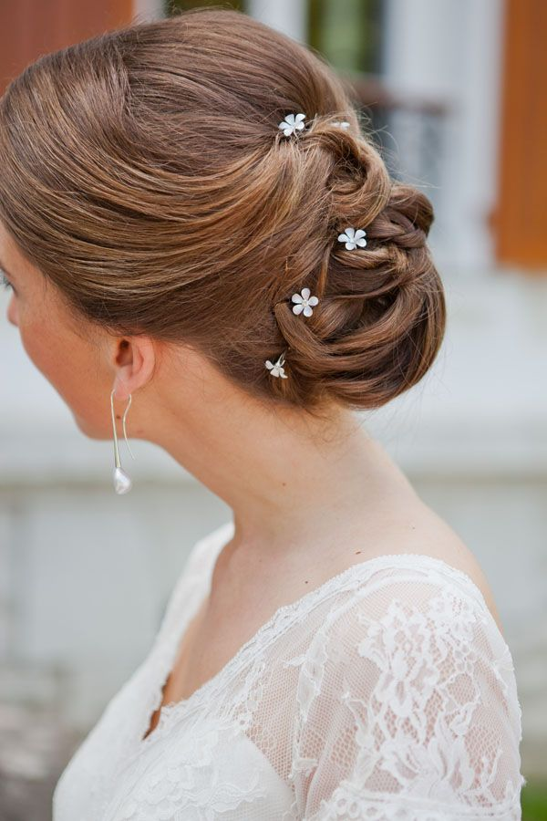 Chignon De Mariee Wedding Hairstyles Hair Styles Hair