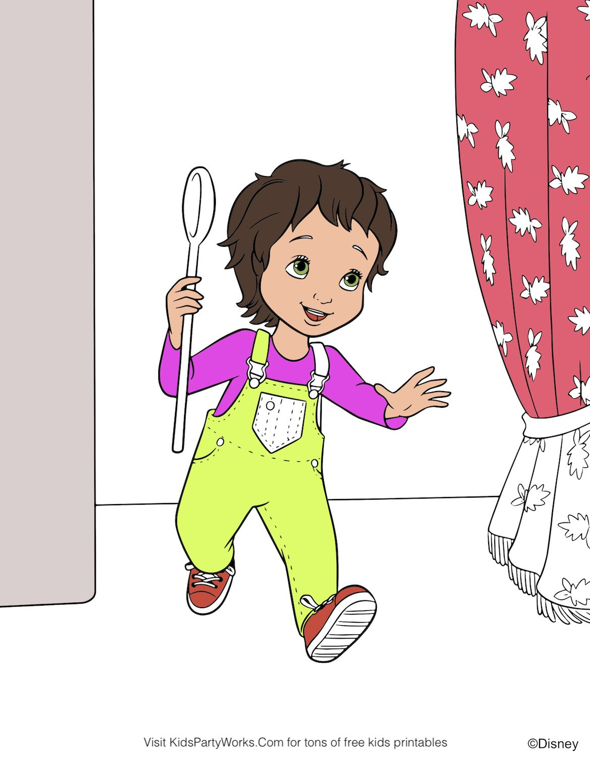 medium resolution of have you seen the new fancy nancy show on disney jr yet nancy and her little sister jojo are absolutely adorable color this fun disney coloring page