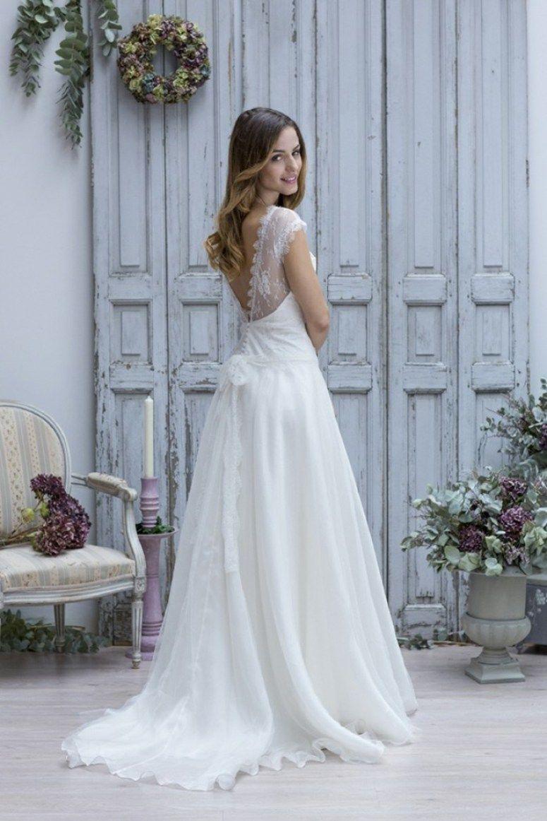 Wedding Dress boho style called \