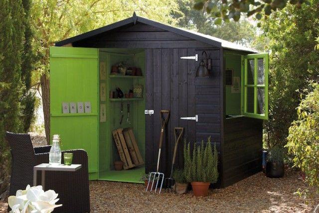 ▷ Comment Construire son abri de jardin en bois u2013 astuces et photos ? - construire un cabanon de jardin en bois