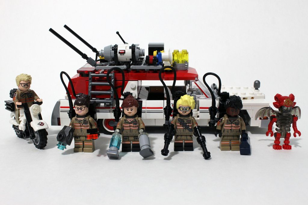 LEGO Ghostbusters Ecto-1 & 2 (75828) http://www.flickr.com/photos/tormentalous/28019133432/