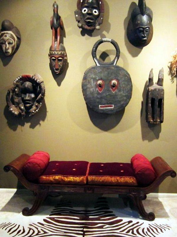 40 African Masks Wall Decoration Ideas Living