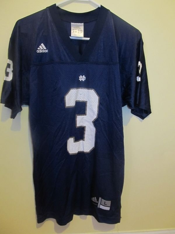 new style 09fdb b067e Joe Montana - Notre Dame Irish Football jersey - Adidas ...