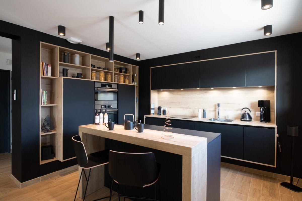 Populaire Cuisine Ouverte Avec Bar 20 en 20  Bares en el hogar