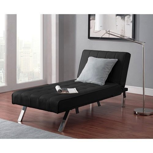 Convertible Futon Chaise Lounger Sofa Bed Sleeper Couch Dorm Chair NEW