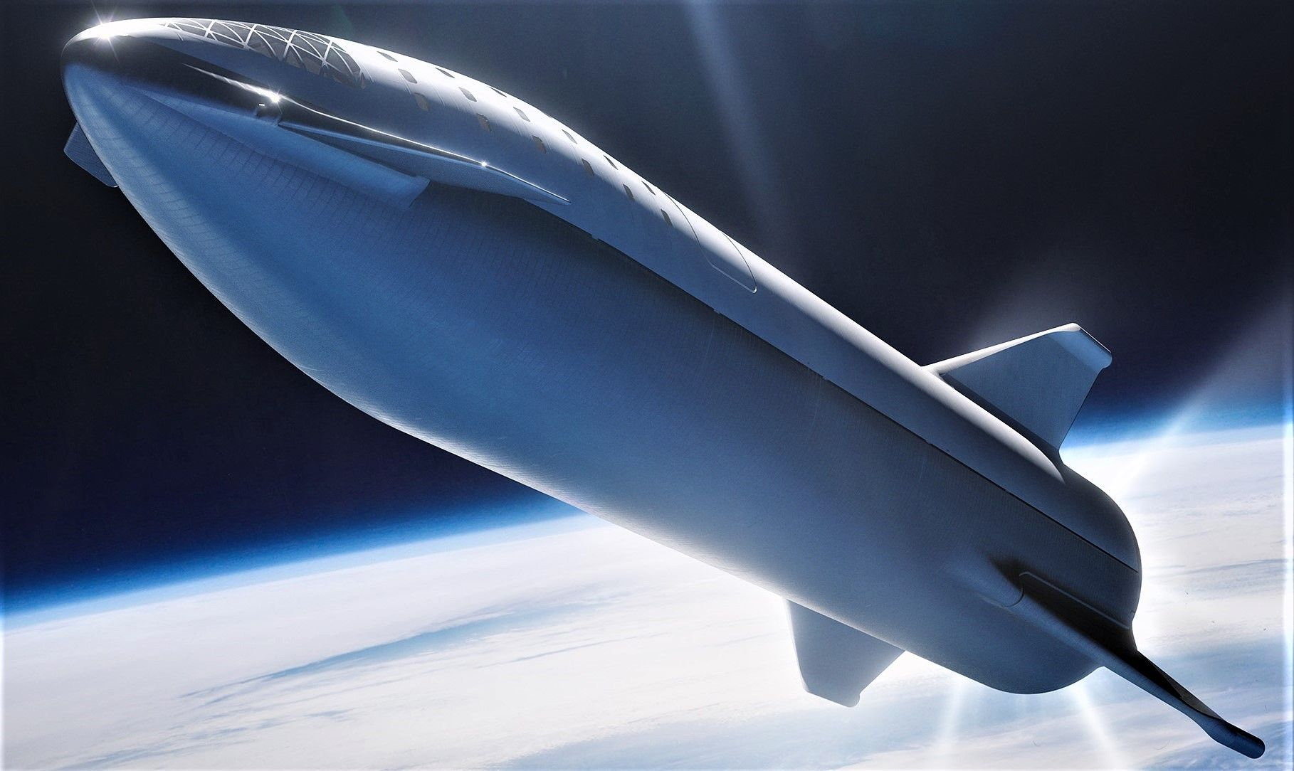 Spacex S Bfr Rocket And Spaceship Look More Real Than Ever In New 4k Renders Spacex Starship Spacex Falcon Heavy