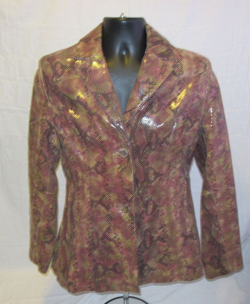 Wilson's Leather Pink Suede Jacket Size XL Pink suede