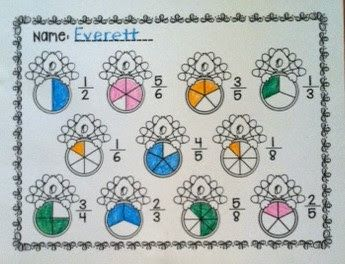 Fractions~ Print and Go