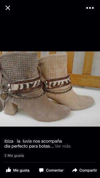 Complementos para las botas