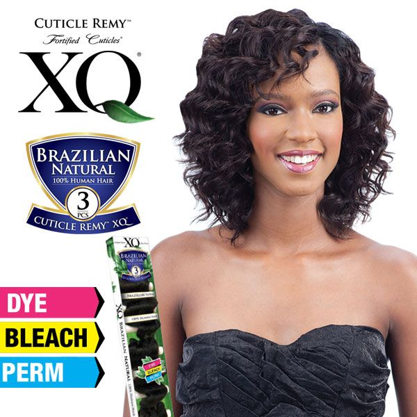 Xq  Unprocessed Brazilian Natural Cuticle Remy Human Hair