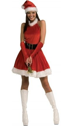 Nouvelle Miss Santa Costume-Adulte Noël Déguisement Noël Costume