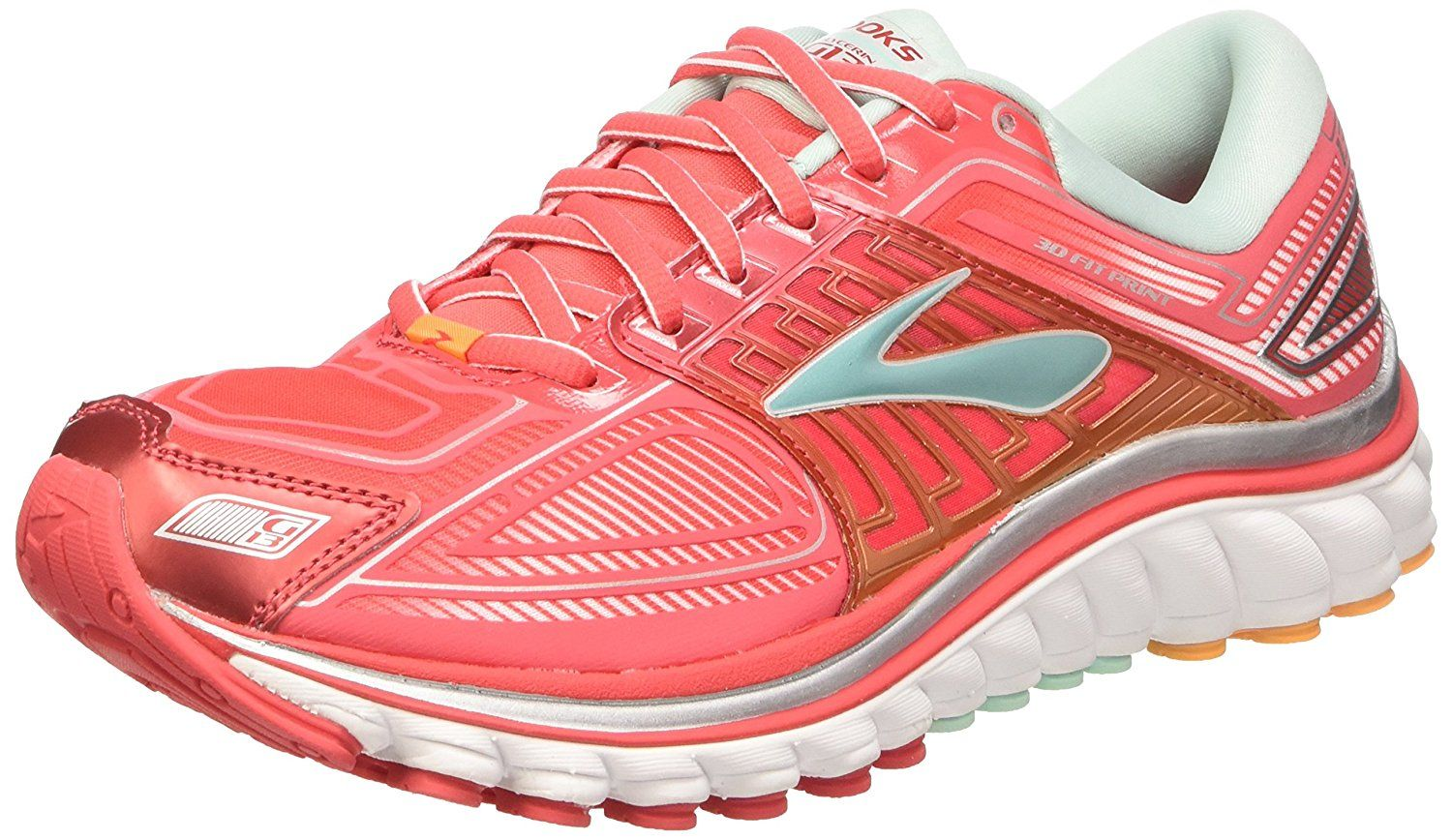 84cb7516aa8 4th Best Cushioned Running Shoes-Brooks Women s Glycerin 13  Brooks Women s  Glycerin 13 built for the neutral to mild overpronator