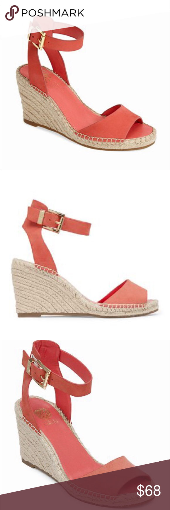 """ce9c2620088 NWOB Vince Camuto """"Tagger"""" Espadrille Sandal 8 New without box Vince Camuto  """"Tagger"""