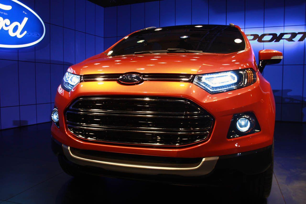 New Ford EcoSport, Ford EcoSport 2013, Ford EcoSport India