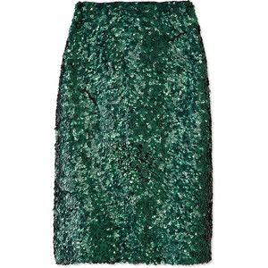 Burberry Prorsum Sequined Skirt ShopBAZAAR
