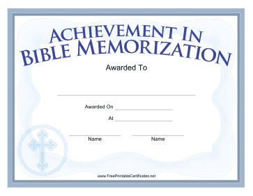 Memory verse for Memory cross template