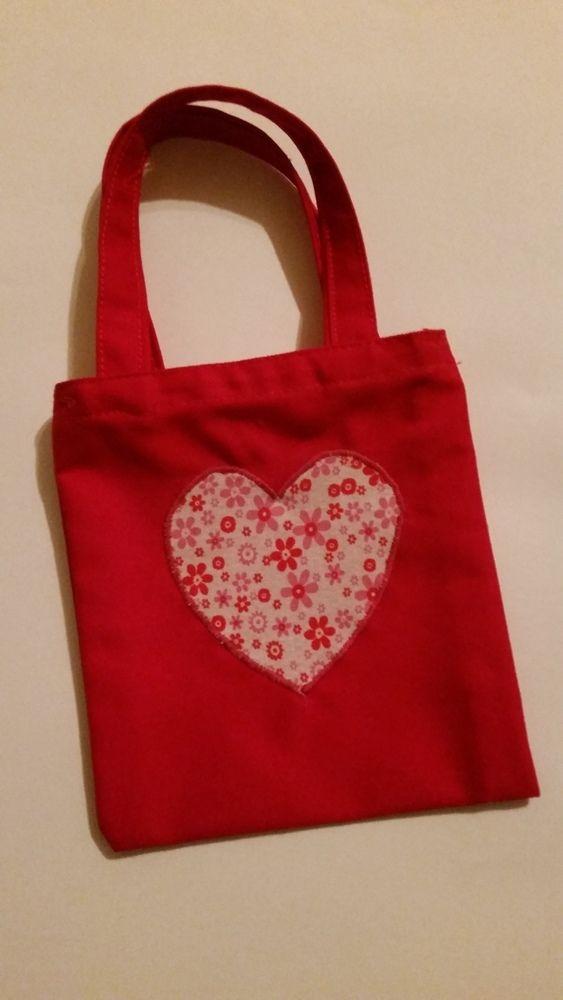 SMALL HEART GIFT BAG