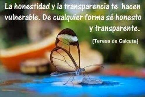 Frases De Honestidad Transparencia Vulnerable Honesto