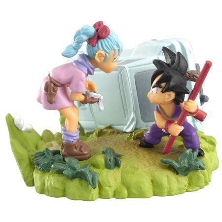 Dragonball Dragon ball Z Imagination Figure 10 Gashapon Gokou Goku & Bluma