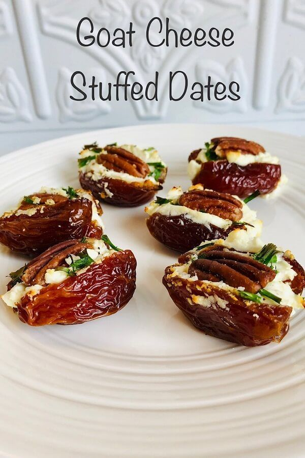 Stuffed Dates Party Appetizers