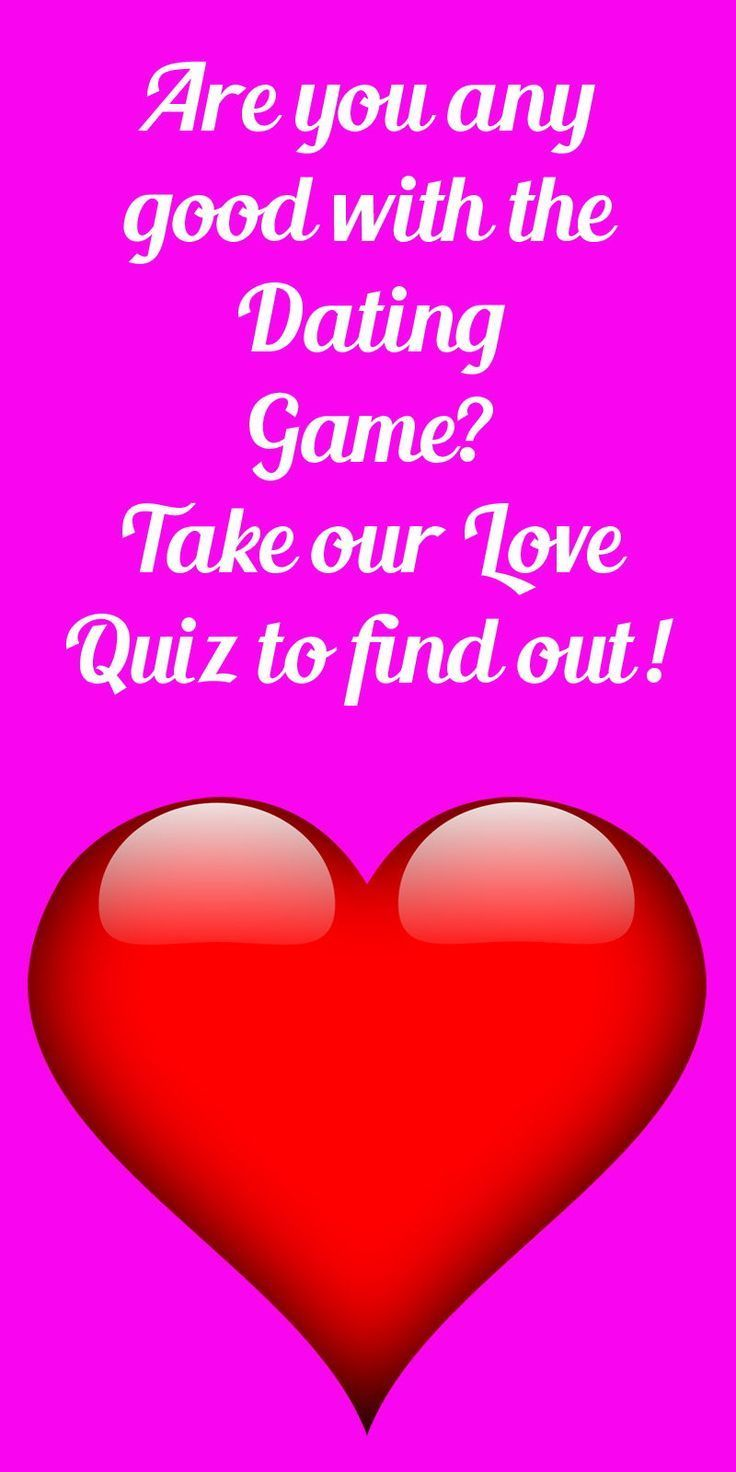 Quiz dating games