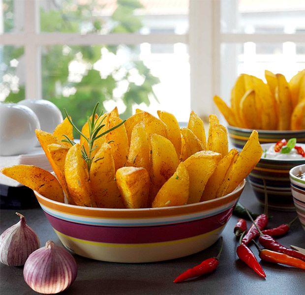 Kartoffel-Ecken aus dem Backofen #kartoffeleckenbackofen