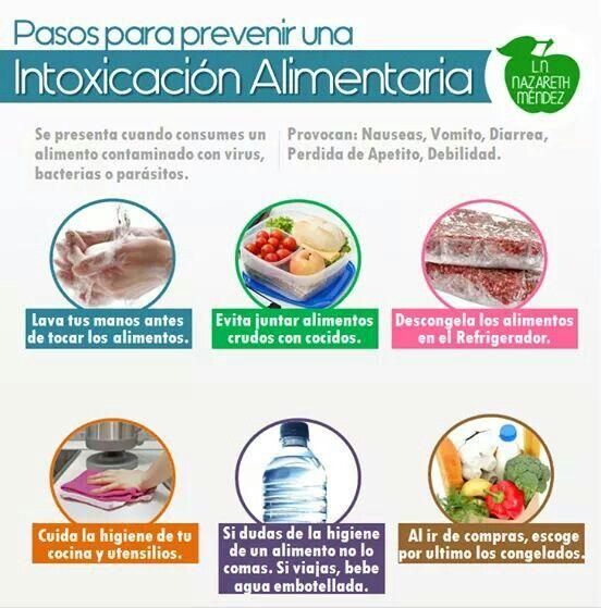 dieta para despues de una intoxicacion alimentaria