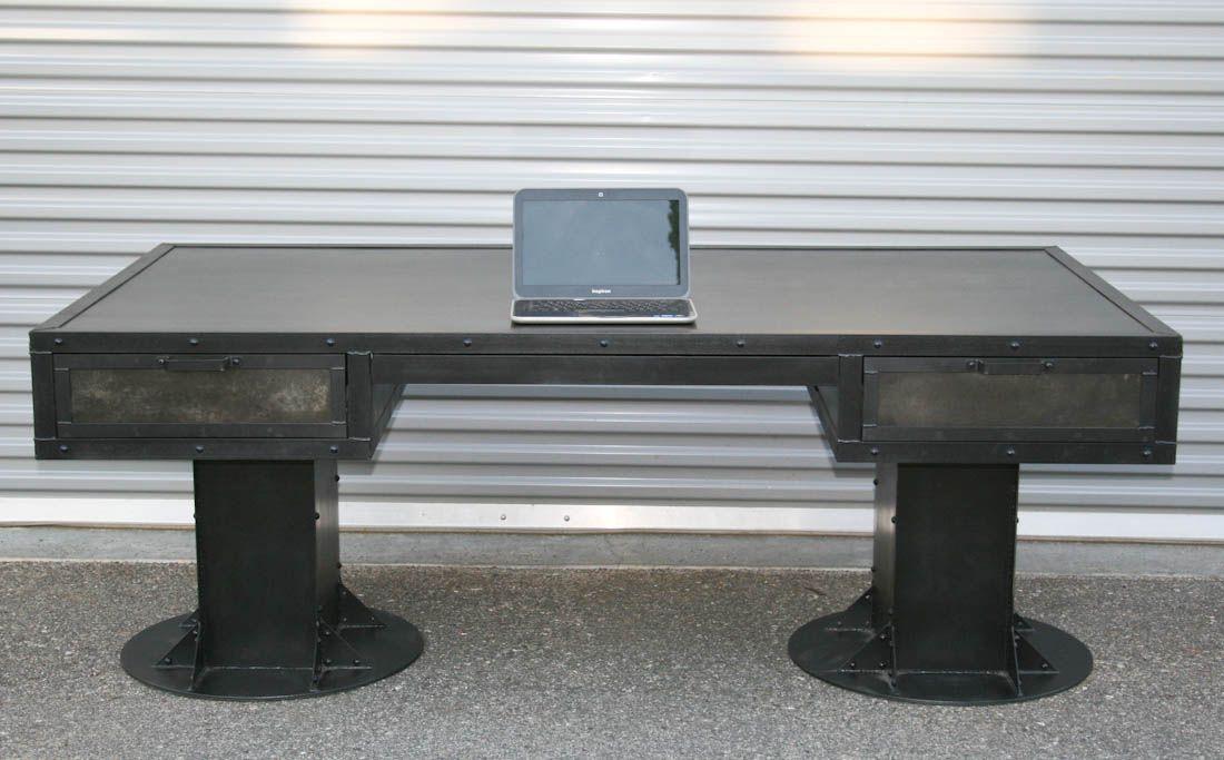 Combine 9 | Industrial Furniture – Vintage Style Industrial Desk ...
