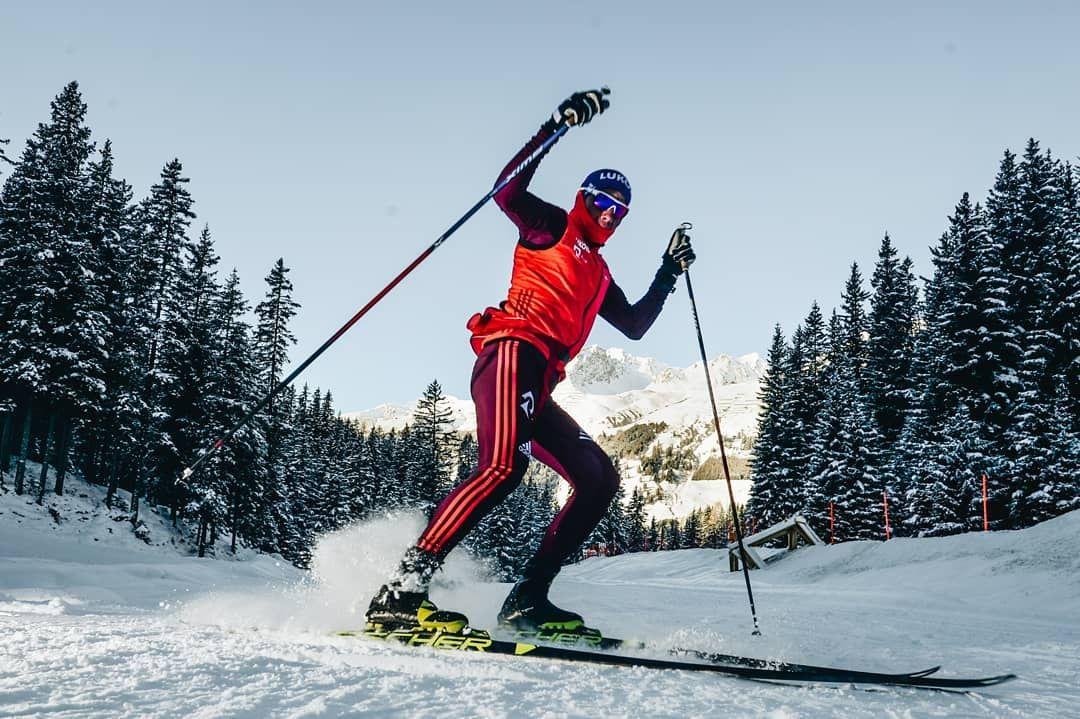 Крутые картинки лыжников