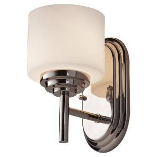 Check out the Murray Feiss VS26001-PN Malibu 1 Light Vanity Fixture in Polished Nickel priced at $52.00 at Homeclick.com.