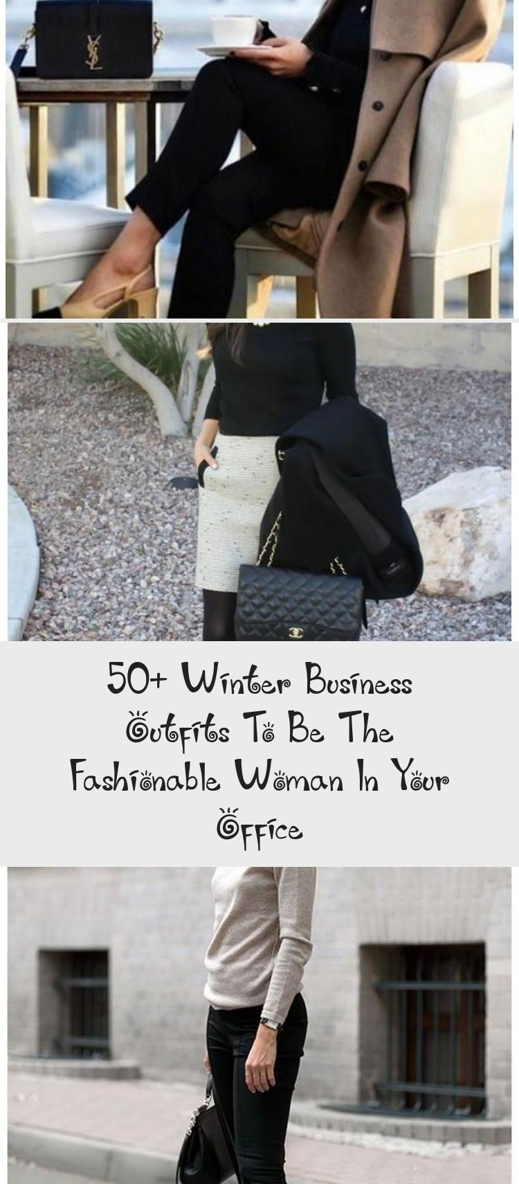 50+ Winter Business Outfits To Be The Fashionable Woman In Your Office - Galafashion / Women Outfits