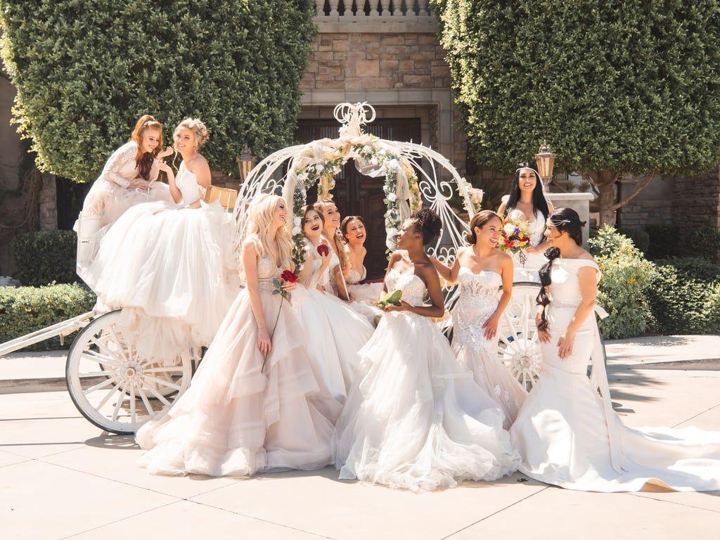 bippity boppity boo, this disney princess wedding is a dream