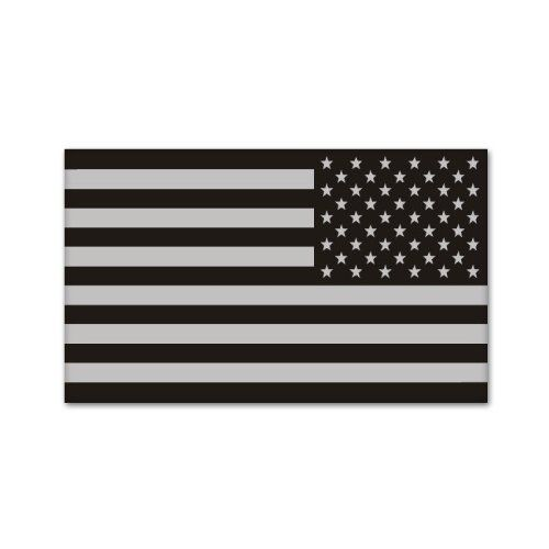 american subdued mirrored flag decal tactical military car sticker rh pinterest com au