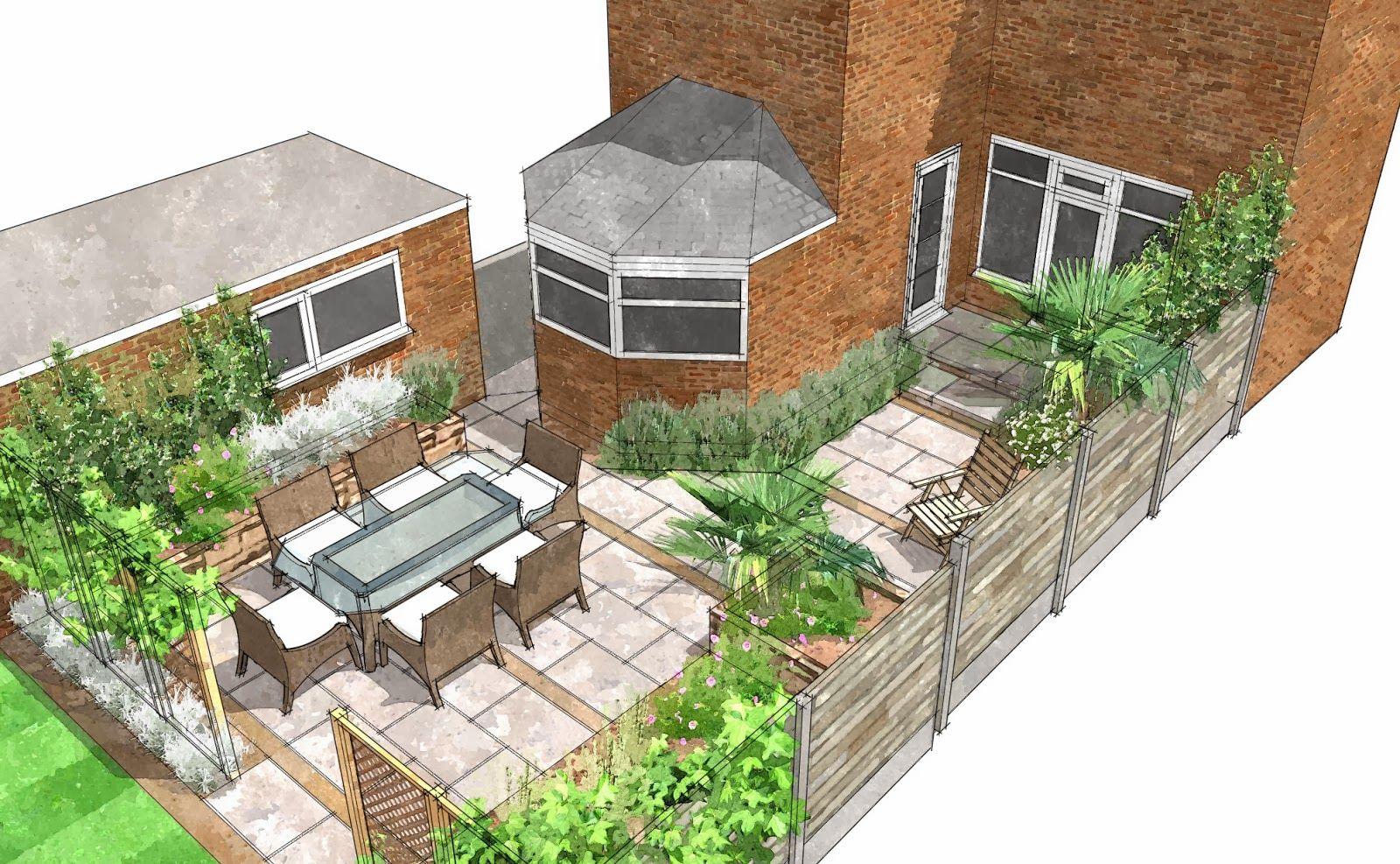 Merveilleux Sketchup 3D Garden Design | Computer Aided Garden And Landscape Designs |  Pinterest