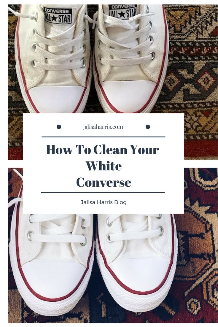 How to clean your white converse how to clean white