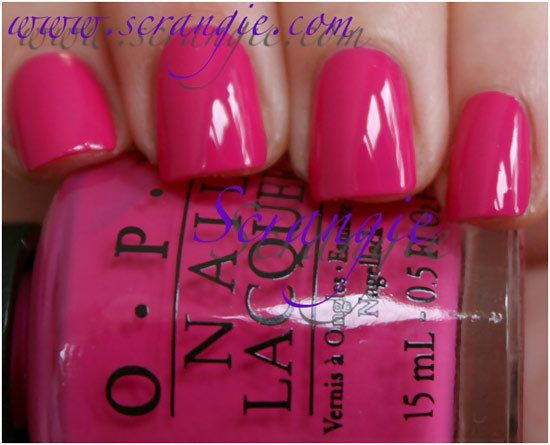 Top 10 Nail Polishes For Fair Skin | OPI and Swatch