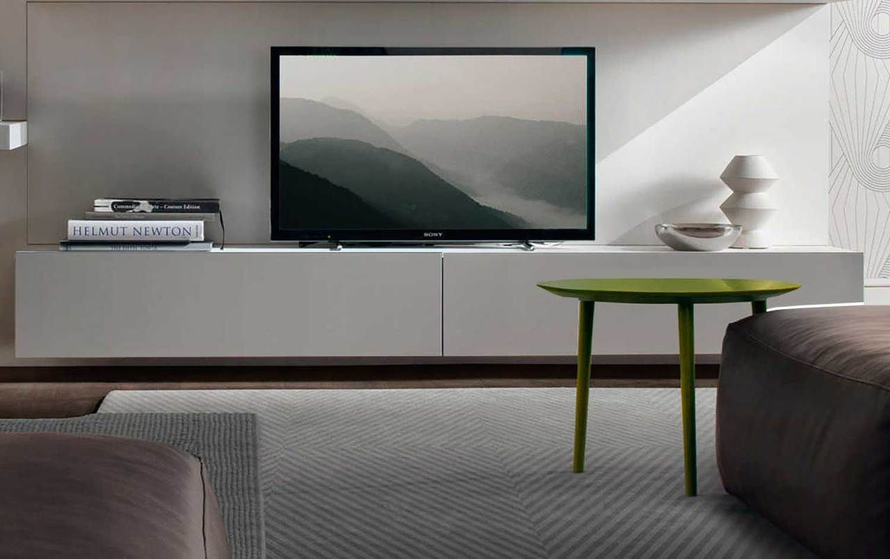 Brisbane Floating Tv Entertainment Unit Kensington House  # Meuble Tv Tres Long