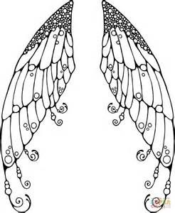 Chibi Wolf With Wings Coloring Pages Fairy Wings Drawing Fairy Coloring Pages Fairy Wings