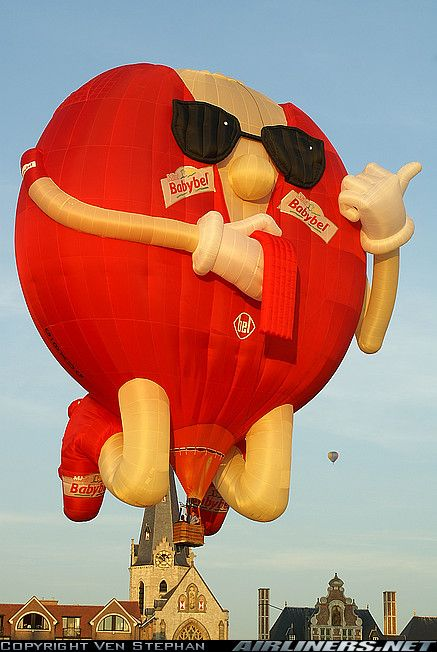 Lindstrand Balloons LBL Baby Bel SS aircraft picture