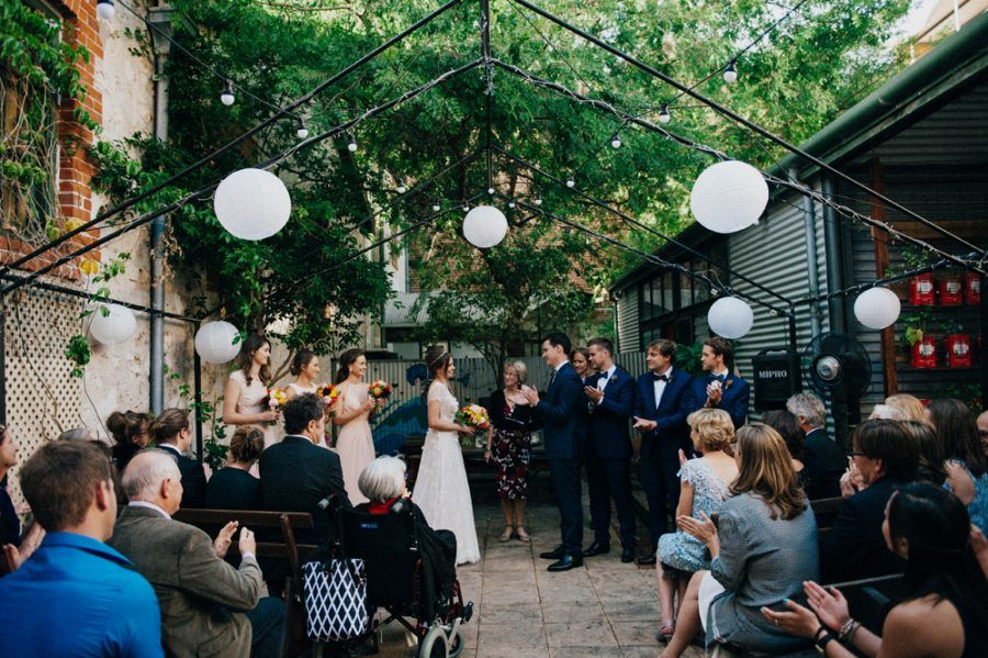 Relaxed Fremantle Wedding At Moore Cafe