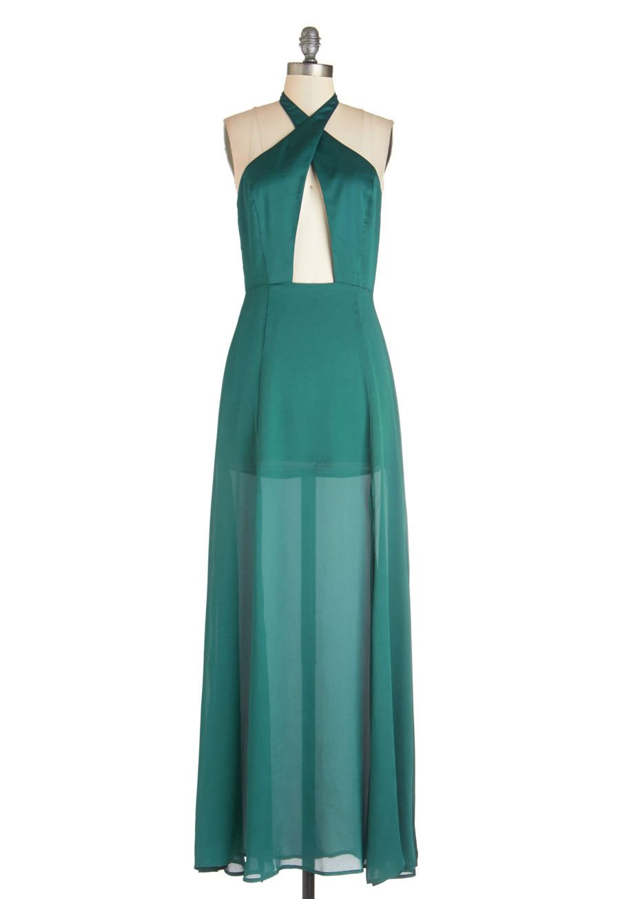 Lacy in the Sky Dress | ModCloth, Maxi dresses and Teal